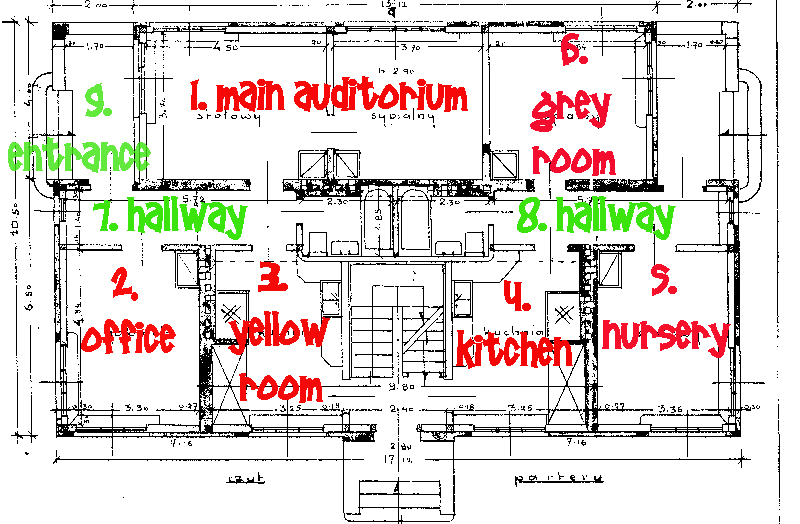 bottom floor plan Otwock